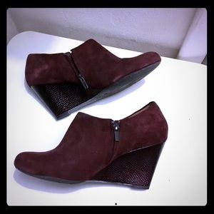 Clark Leather/Suede Ankle Boots